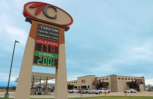Choctaw Nation of Oklahoma Selects PriceAdvantage Fuel Price