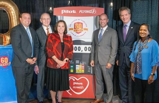 Pilot Flying J Announces $2 Million in Charitable Donations to Celebrate 60th Anniversary