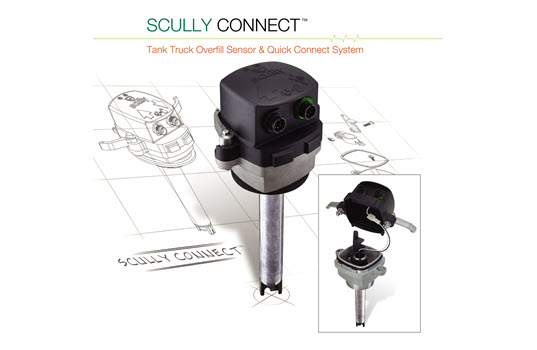 Scully Connect Quick Connection Tank Truck Overfill Prevention's System
