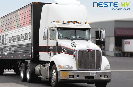 Save Mart Companies Switch to Neste MY Renewable Diesel