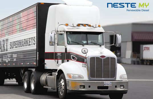 Save Mart Companies Switch to Neste MY Renewable Diesel