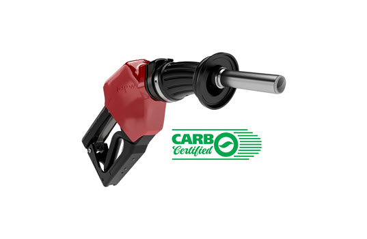 New OPW 14E ECO Nozzle Receives CARB Certification