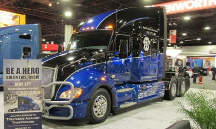 """Truckers Against Trafficking Prepares for """"Everyday Heroes"""" Kenworth T680 Auction May 17"""