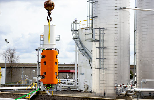 Robotic Inspection of In-Service Diesel Storage Tank a Success