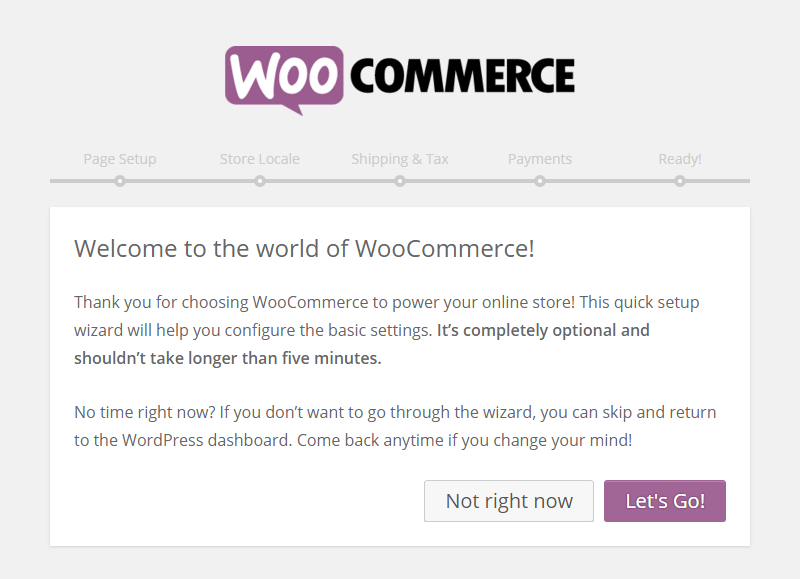 WordPress E-Commerce WooCommerce Setup