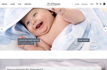 Bie Babydecke WordPress Theme