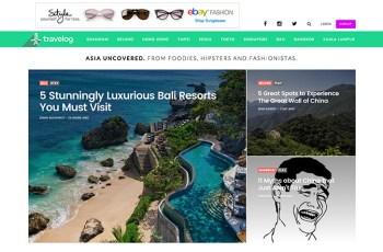 Travelog WordPress Theme
