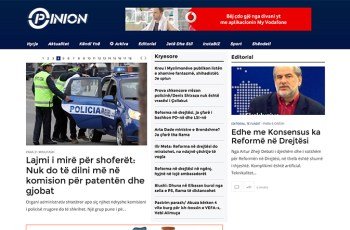 Opinion TV WordPress Theme