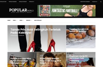 Popular Magazine Indonesia WordPress Theme