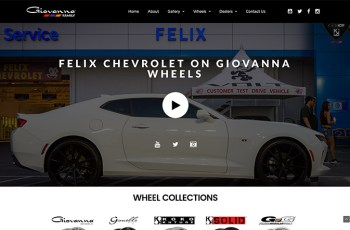 Giovanna Wheels WordPress Theme
