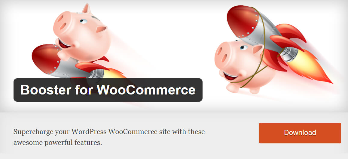 Free WooCommerce extensions: Booster