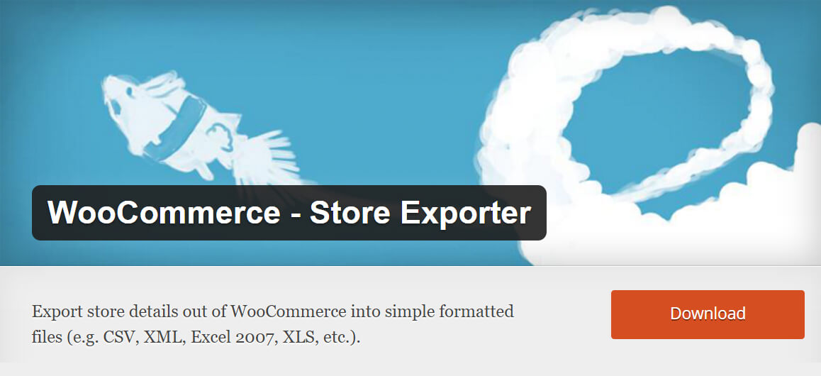 Free WooCommerce extensions: Store Exporter