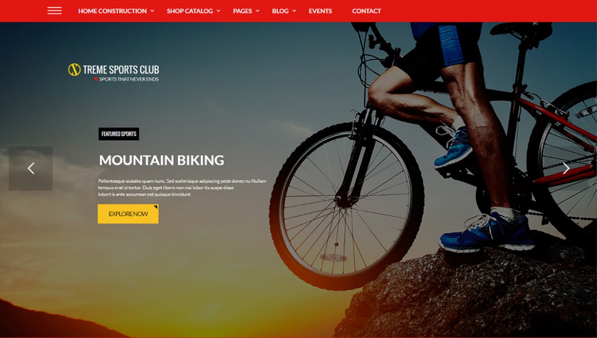 WordPress Sports Themes: xtreme