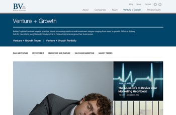 Battery Ventures WordPress Theme