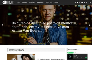Phouse Brasil WordPress Theme