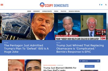 Occupy Democrats WordPress Theme