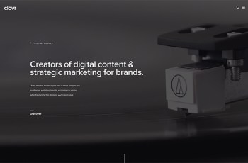 Clovr Design WordPress Theme