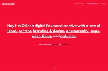 Oliver Prenton WordPress Theme