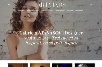 ArtMinds WordPress Theme