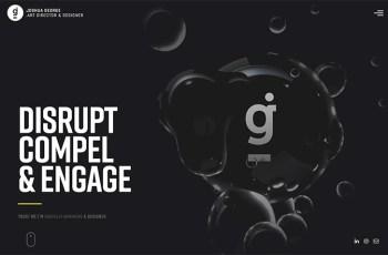 Joshua George WordPress Theme