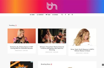 Breathe Heavy WordPress Theme