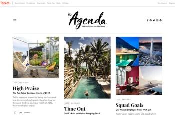 Tablet Hotels Magazine WordPress Theme