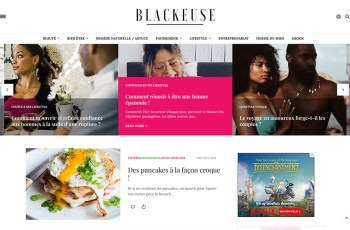 La Blackeuse WordPress Theme