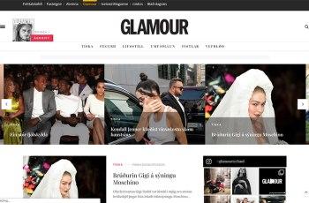 Glamour Iceland WordPress Theme