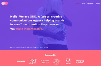 Odd Company WordPress Theme