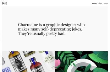 Charmaine Cheng WordPress Theme