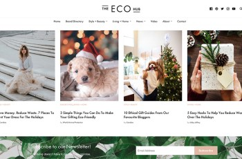 The Eco Hub WordPress Theme