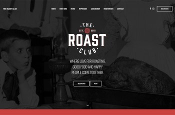 The Roast Club WordPress Theme