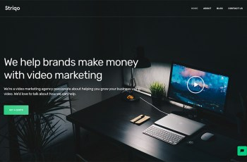 Striqo WordPress Theme