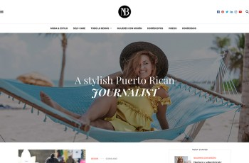 Natasha Bonet WordPress Theme