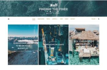 Finding the Finer WordPress Theme