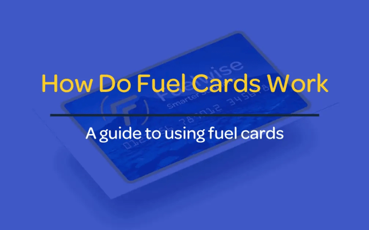 How do fuel cards work