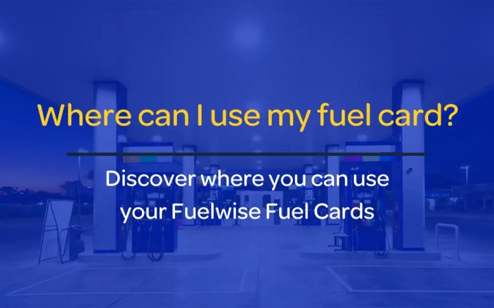 Use my fuel card