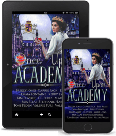Once Upon Academy Anthology featuring Sense & Sensitivity by Megan Fuentes