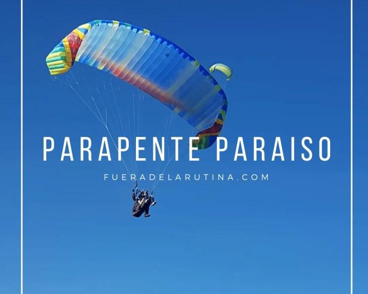 Parapente paraiso