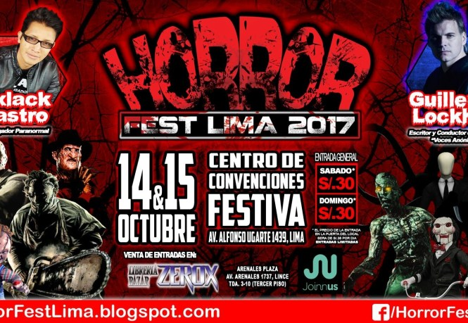 Podcast FDC 49 - Horror Fest Lima 2017