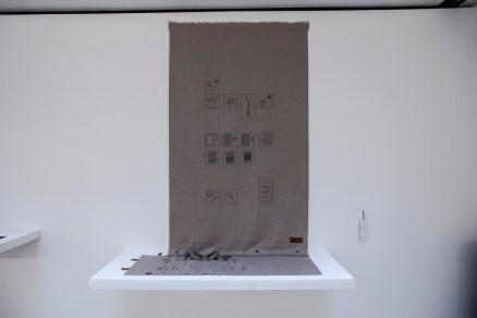 """mischer'traxler studio, """"knowledge – tools – memory: blanket"""", 2013"""