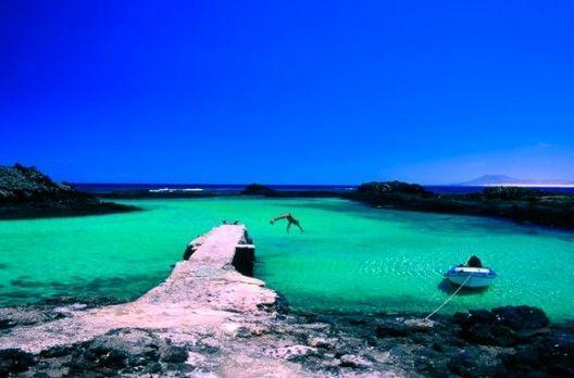 Muelle de Isla de Lobos - Fuerteventura