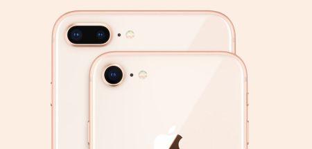 Camara trasera del iPhone 8 y iPhone 8 Plus