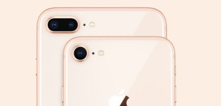 Camara trasera del iPhone 8 y iPhone 8 Plus