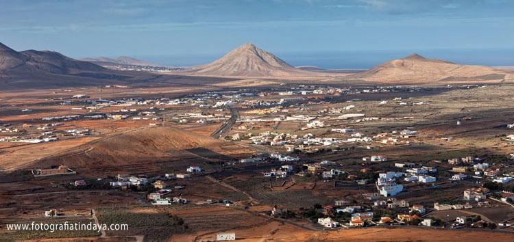 La Oliva - vista desde Escanfraga