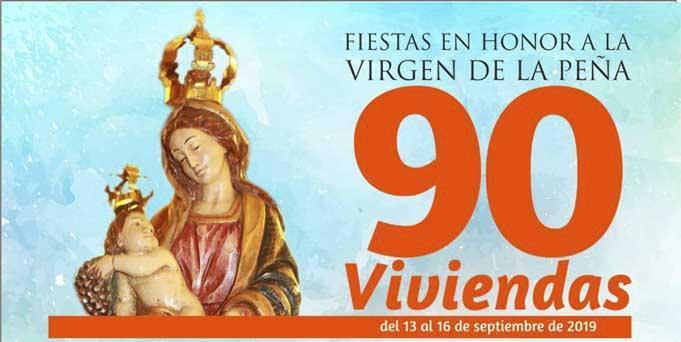 FIESTAS EN HONOR A LA VIRGEN DE LA PEÑA - 90 Viviendas