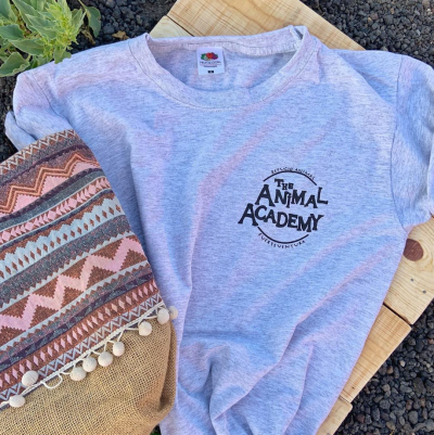 Camiseta Gris The Animal Academy
