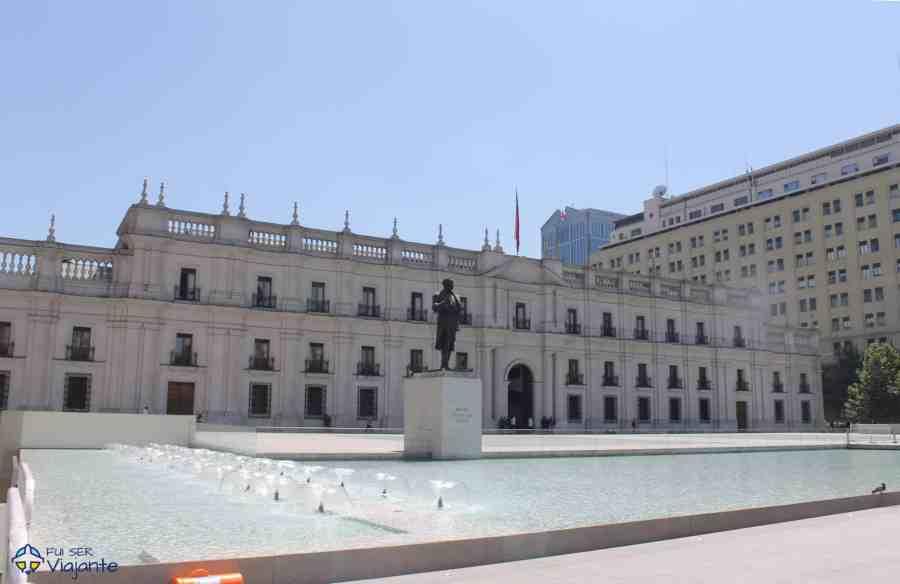 Palacio La Moneda Santiago