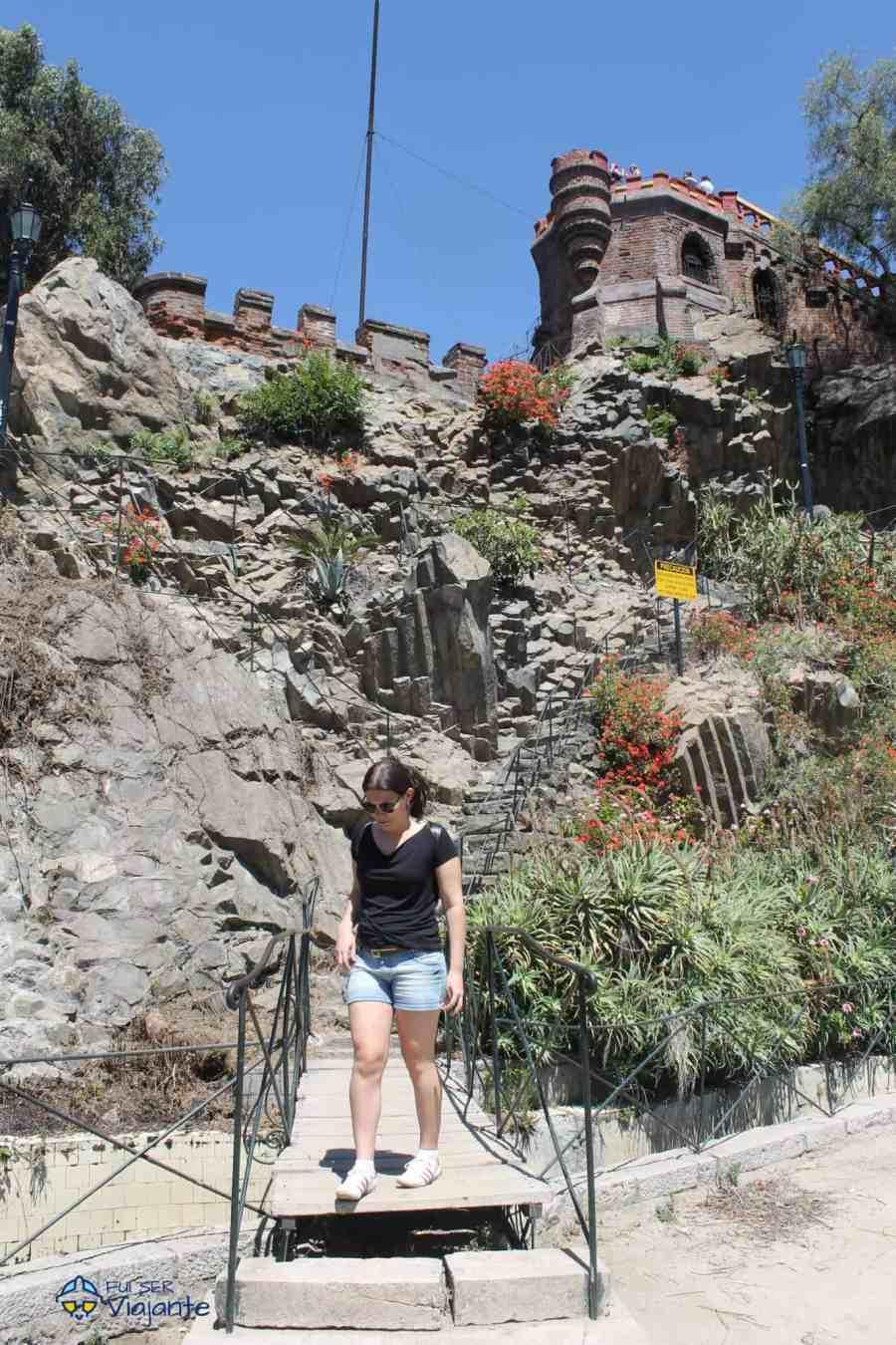 Cerro Santa Lucía Santiago