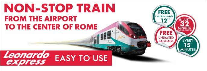 Como ir do Aeroporto Fiumicino ao centro de Roma
